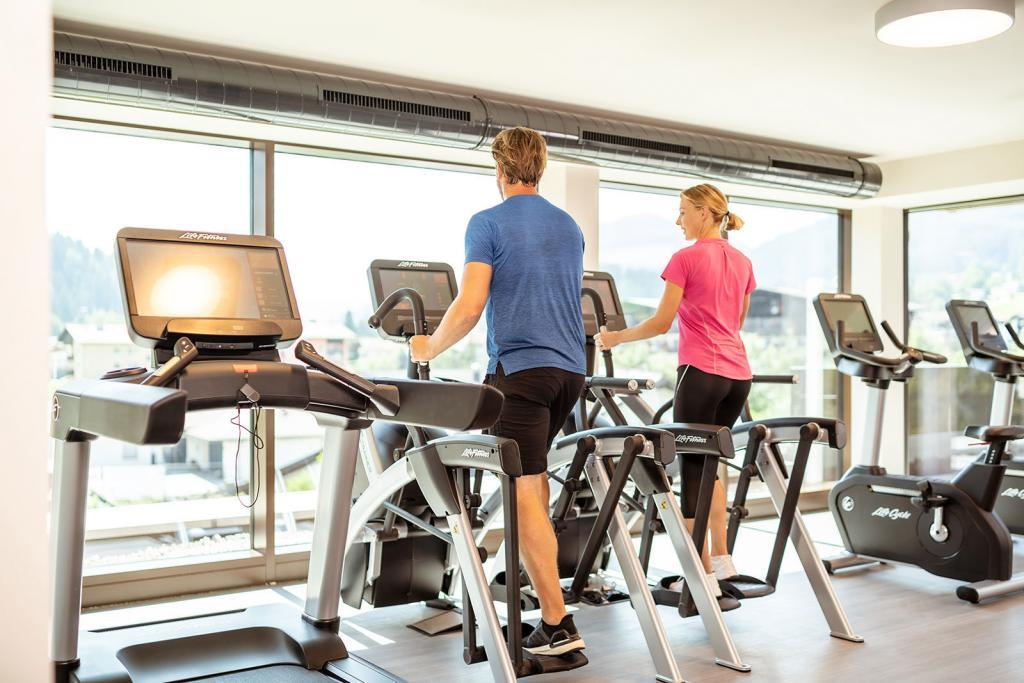 Crosstrainer im LifeStyle Hotel Söll am Wilden Kaiser